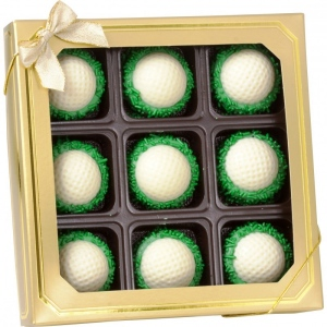Golf Chocolate Oreos - Box of 9 image