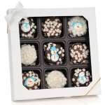 Winter Holiday Chocolate Dipped Oreos Gift