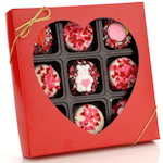 Romantic Chocolate Covered Oreo Cookie Gift Box