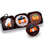 Clear Acrylic Gift Box of 3 Halloween Oreos