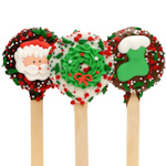 Christmas Oreo Pop Favors