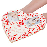 Heart Shaped Giant Sugar Picture Cookie