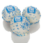 Personalized Business Logo Truffle Cake Bons