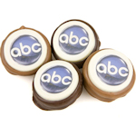 Chocolate Dipped Logo Oreo Favors
