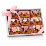 Mother's Day Chocolate Dipped Pretzel Twist Gift Box