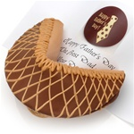 Milk Chocolate & Peanut Butter Giant Fortune Cookie