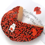 Valentine Special Giant Fortune Cookie