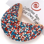 Patriotic Jumbo Fortune Cookie Gift
