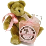 Teddy Bear & Baby Take Out Fortune Pail
