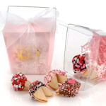 Romantic Fortune Cookies Take Out Pail