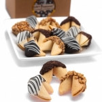 Chocolate Covered Fortune Cookie Gift Box