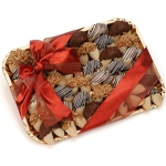 Decorated Chocolate Fortune Cookie Gift Tray