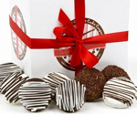 Belgian Chocolate Dipped Oreo Cookies Gift Box