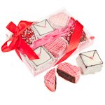Gourmet Valentine's Brownie Gift - Box of 6