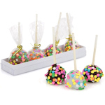 Confetti Brownie Pop Gift - Box of 4