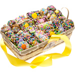 Festive Birthday Gift Basket - 30 Pieces