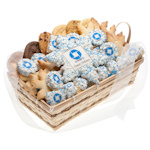 Custom Logo 36 Piece Winter Cookie Basket