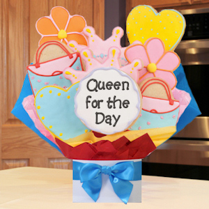Queen for a Day Cookie Bouquet image