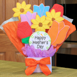 Mother's Day Flowers Gourmet Cookie Bouquet