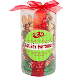 Merry Christmas Fortune Cookie Cylinder