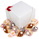 Wedding Themed Fortune Cookies in a Gift Box