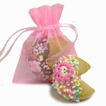 Sweet Baby Fortune Cookie in Organza Bag