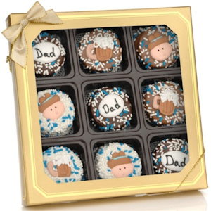 Father's Day Deluxe Chocolate Oreos image