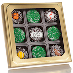 Father's Day Sporty Chocolate Dipped Oreo Gift Box