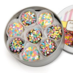 Celebration Chocolate Covered Oreo Cookie Tin