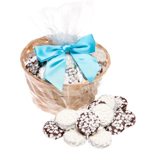Snowflake Chocolate Covered Oreo Gift Basket image