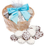 Snowflake Chocolate Covered Oreo Gift Basket