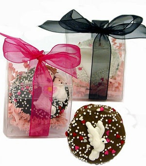 Gift Boxed Wedding Oreo Cookie Favor image
