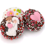 Wedding Day Chocolate Covered Oreo Favors