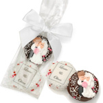 Custom Oreo Cookie Wedding Favor Bag