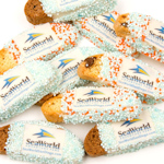 Corporate Logo Mini Biscotti Favors