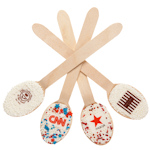Corporate Custom Picture Chocolate Spoons