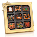 Gourmet Halloween Chocolate Dipped Krispie Box