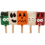 Halloween Krispie Lollipop Gift Set