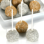 Gold and Silver Truffle Cake Stix Gift