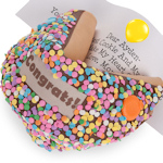 Congrats! Giant Fortune Cookie Gift