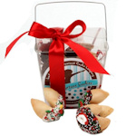 Christmas Fortune Cookie Take Out Pail