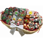 Chocolate Christmas Dessert Gift Basket