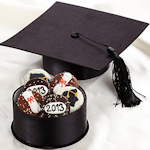 Graduation Cap Oreo Cookie Box