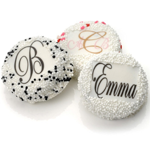Monogram Oreo Cookie Favors image