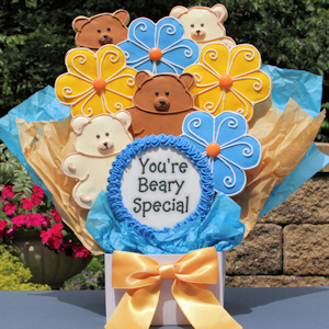 You're Beary Special Cookie Bouquet image
