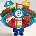 Housewarming Cookie Bouquet - Home Sweet Home