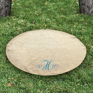 Personalized Keepsake Wedding Vow Rug image