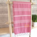 Personalized Turkish Towels (6 Colors)
