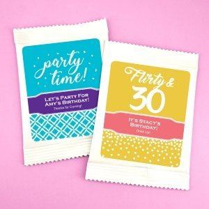 Birthday Cosmopolitan Drink Mix Favors image