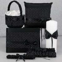Collection - Black & White Polka Dot